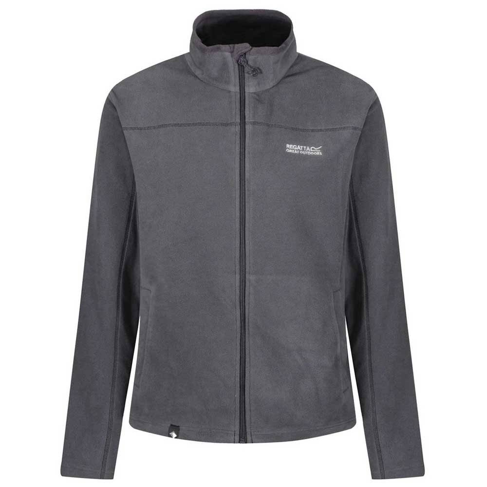 Regatta Chaqueta Hombres Full Fairview Hierro Medio Sealgrey Polar De Zip Peso rr7qB