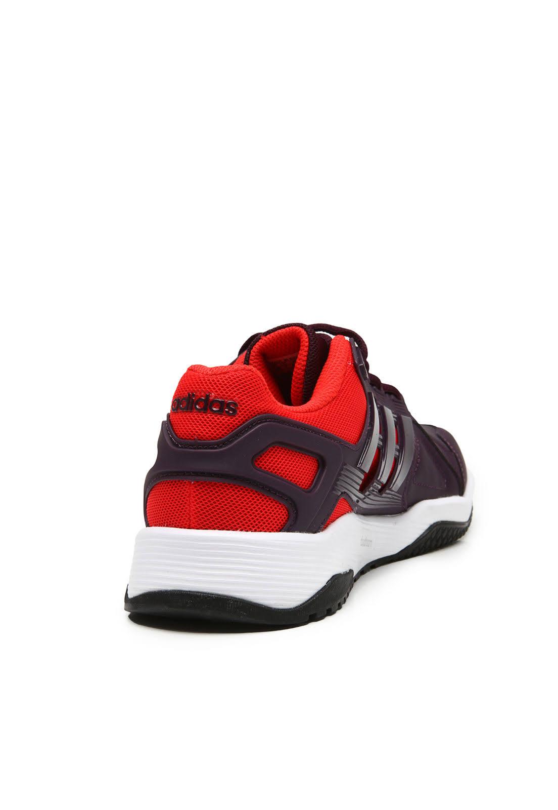 Vermelho 40 Duramo 8 Roxo Training Trainer Adidas Tênis Homem wXIOqX6