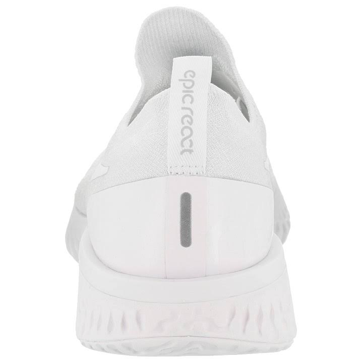 White White reines Laufschuh 11 True Weiß Epic Herren Nike Platin true Flyknit 5 React Größe 1aWwq4z