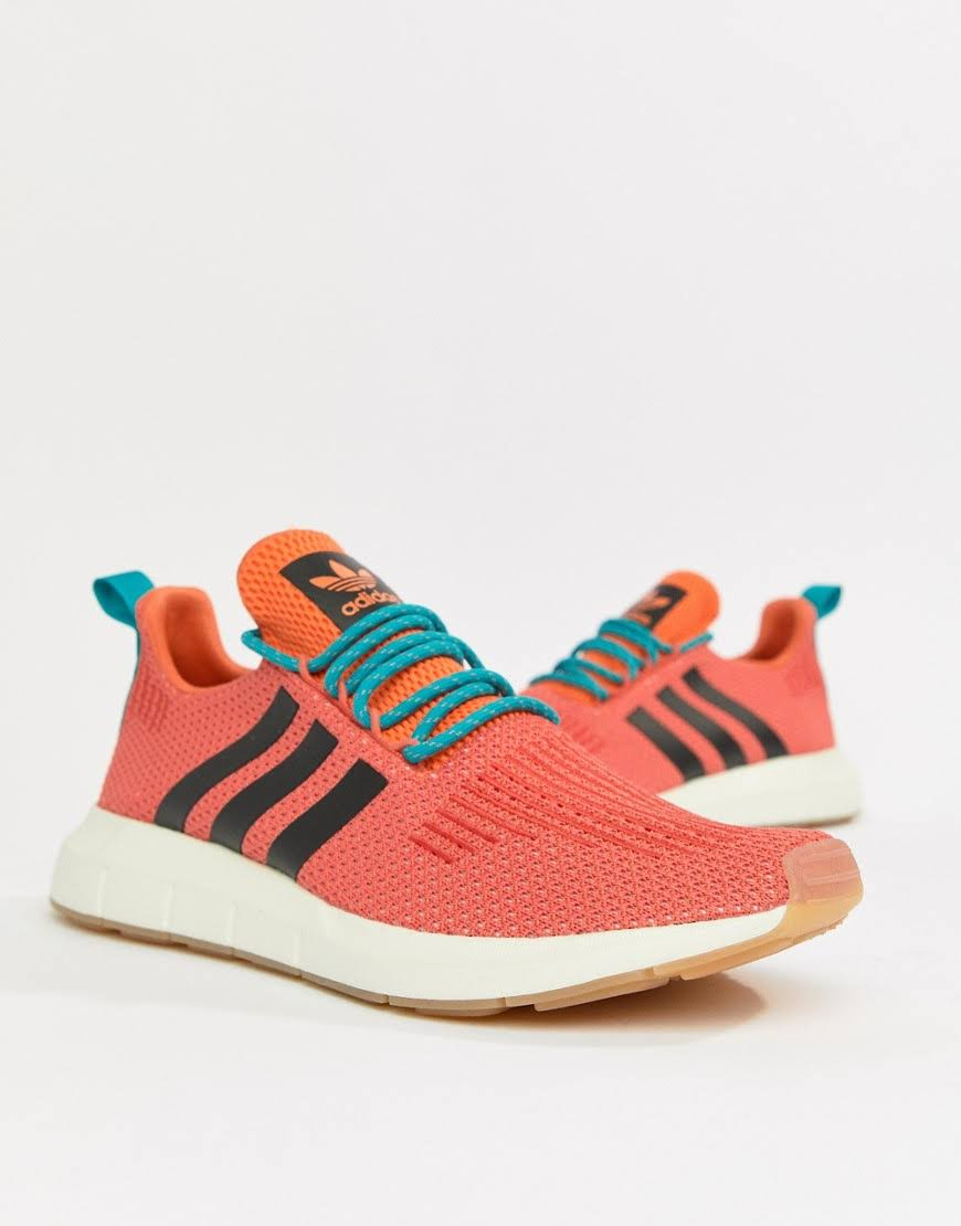 Cq3086 Casual Run Swift Summer Shoes Trace Originals Adidas Hombre Naranja Negro qPZ46nxICw