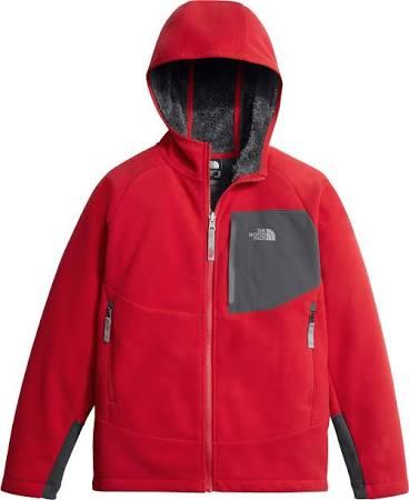Hoodie Klein Boys Face North Rot Fleece Jacket Jungen The Größe 'chimborazo gPSzAq