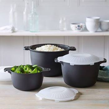 Pampered Chef Micro-Cooker Set