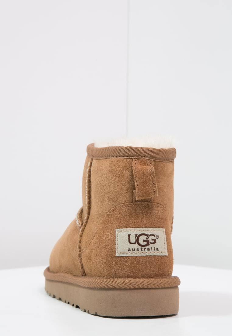 Uk Ankle Child Unisex Brown chestnut Boots Classic Ugg Kids' Mini 13 wFnqvzBI