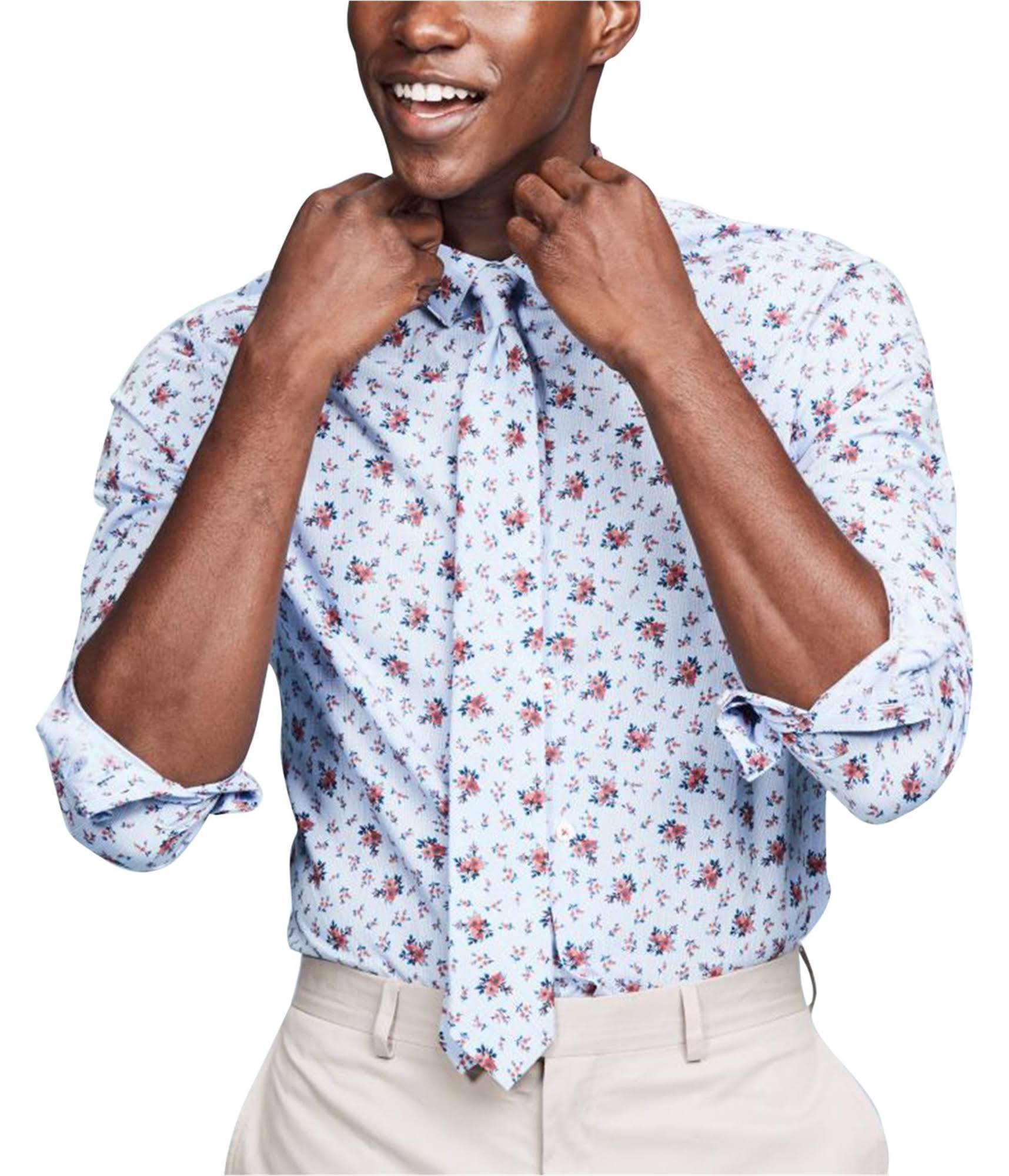 Vestir Para Hombre Y Con Camisa De Estampado Iii Bar Ajustado Corte Bs17ptcrfl Floral Hw8q5Uq