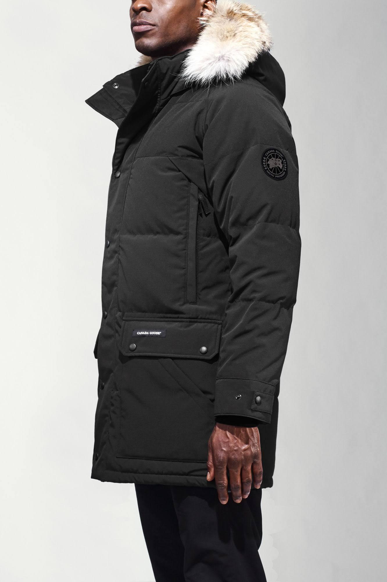 Label Black Emory hombres Goose Negro Canada Xs Parka 8wFqU7WIa