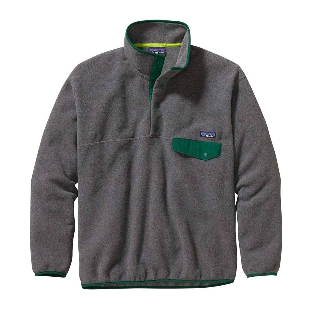 Pullover Snap Nickel Synchilla Men's t By Patagonia Hunter Green 7gOqw6nxP