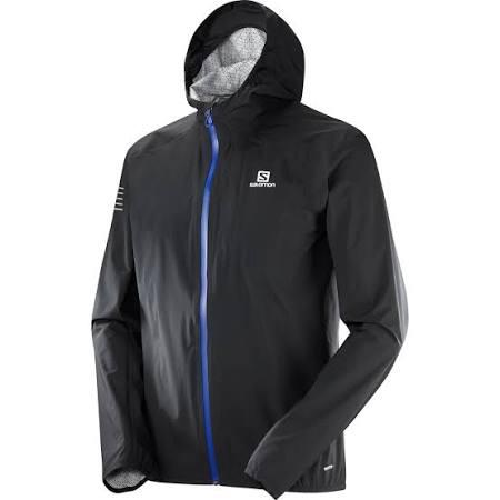 xl Hombre Shell Xl L40095500 Negro Salomon Wp Bonatti Jacket cBfW8q