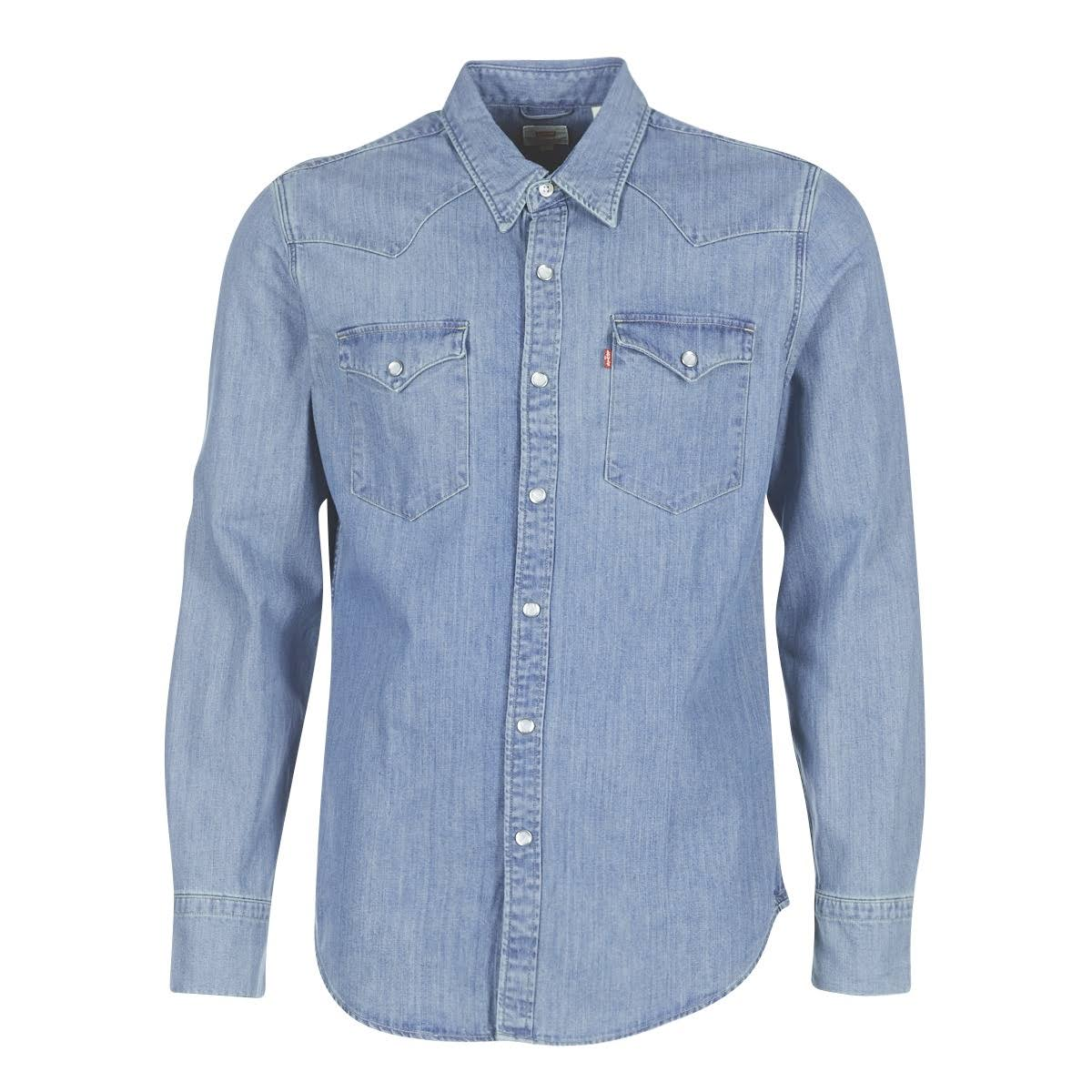 65816 Caststonered Shirt hombres Western Levis Camisas 8qAd8w