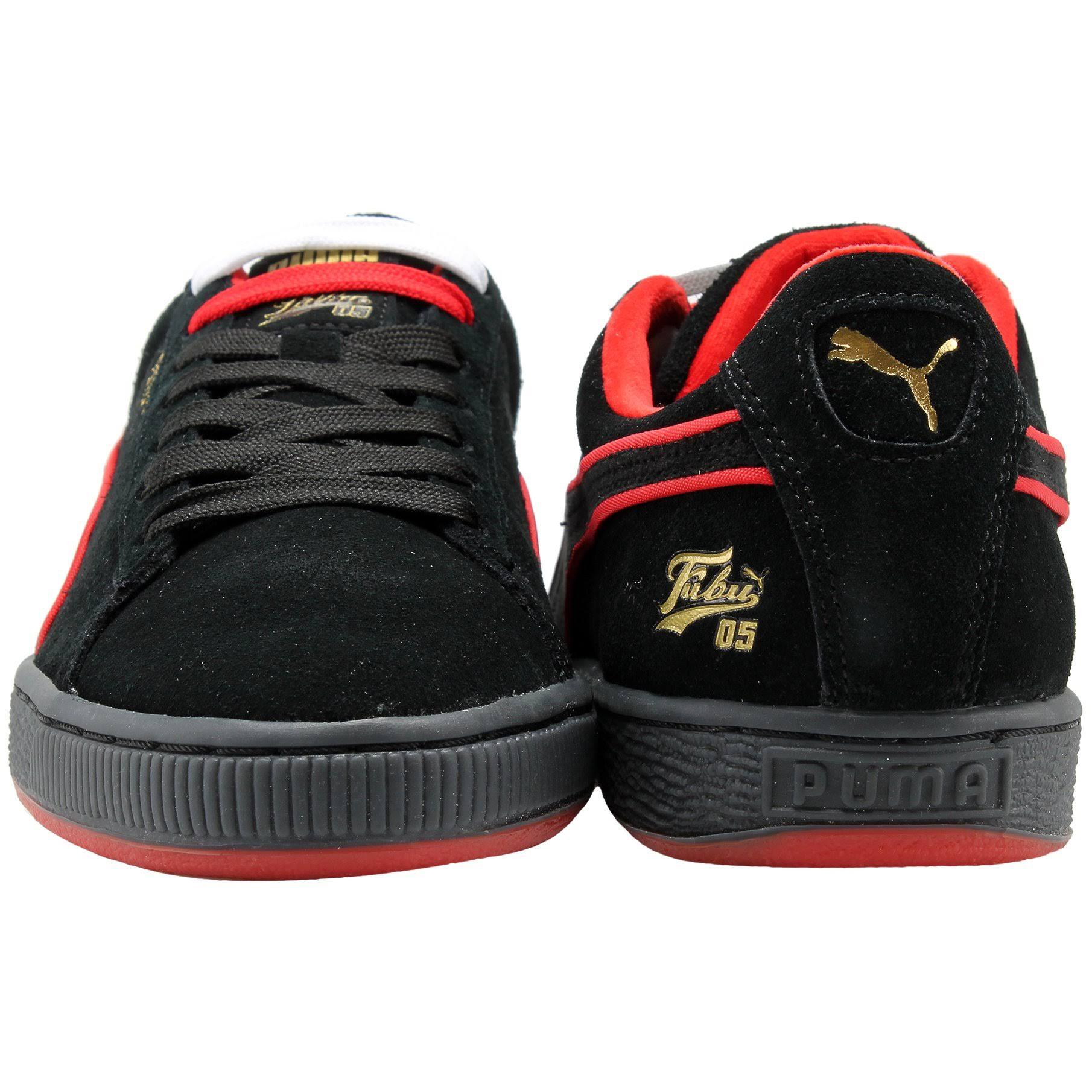 36632002001 5 Alto Rojo Classic Zapatos Para Negro Puma Oro Tamaño Suede Riesgo 11 Hombre Z8qvxX7