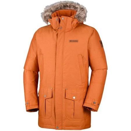 Columbia Copper Para Ridge Timberline Chaqueta Hombre Bright Orange wYgPExaqn