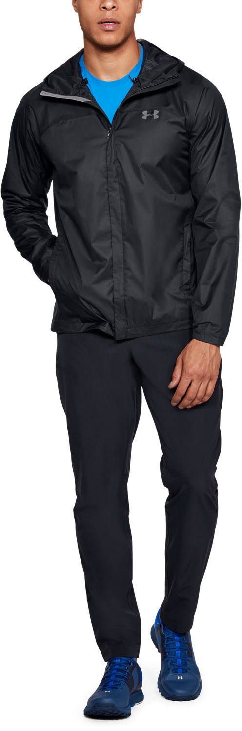 Overlook Para Armour Under Grafito Negro Chaqueta Hombre aCqBgxqU