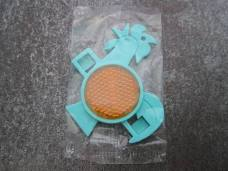 Kelloggs Cornflakes Cockerel Plastic Bicycle Bike Reflector Sealed