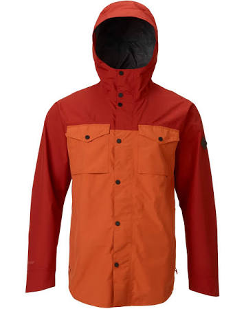 2018 Shacket Packrite Naranja Mediana Gore tex Burton aq18I