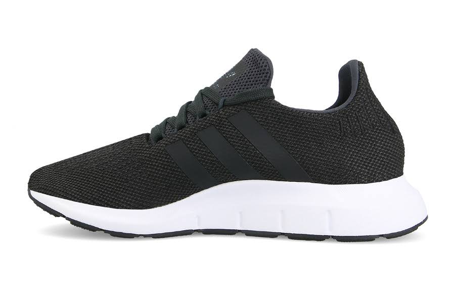 carbon Sneakers mediumgreyheather Men's Run Swift coreblack Black Originals Shoes Adidas Cq2114 fvvBq8
