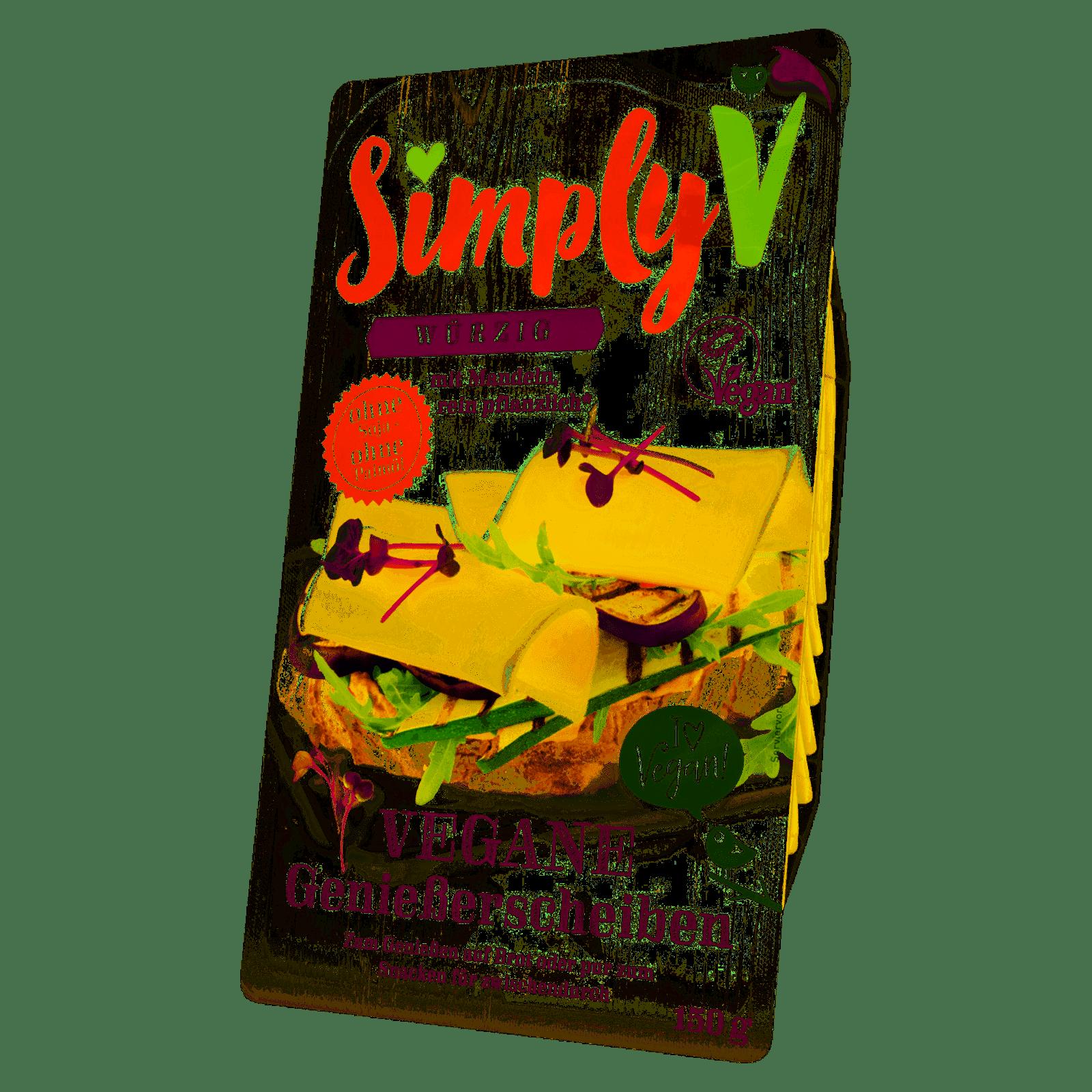 Simply V Vegane Genießerscheiben 150g