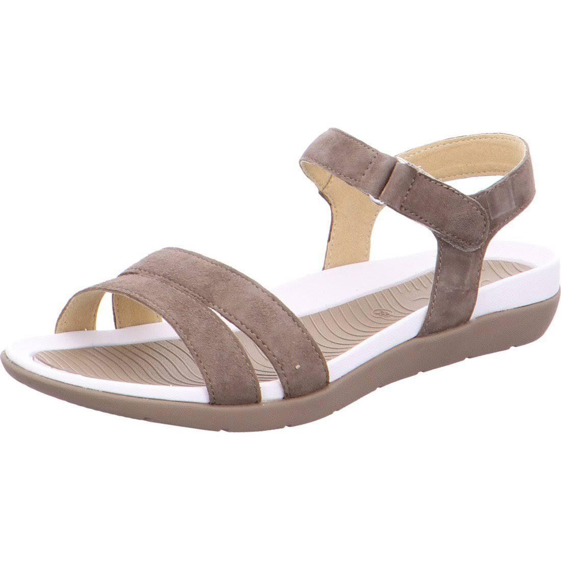 (6 UK / 39 EU) Ara Women's Brown Nepal Sandals