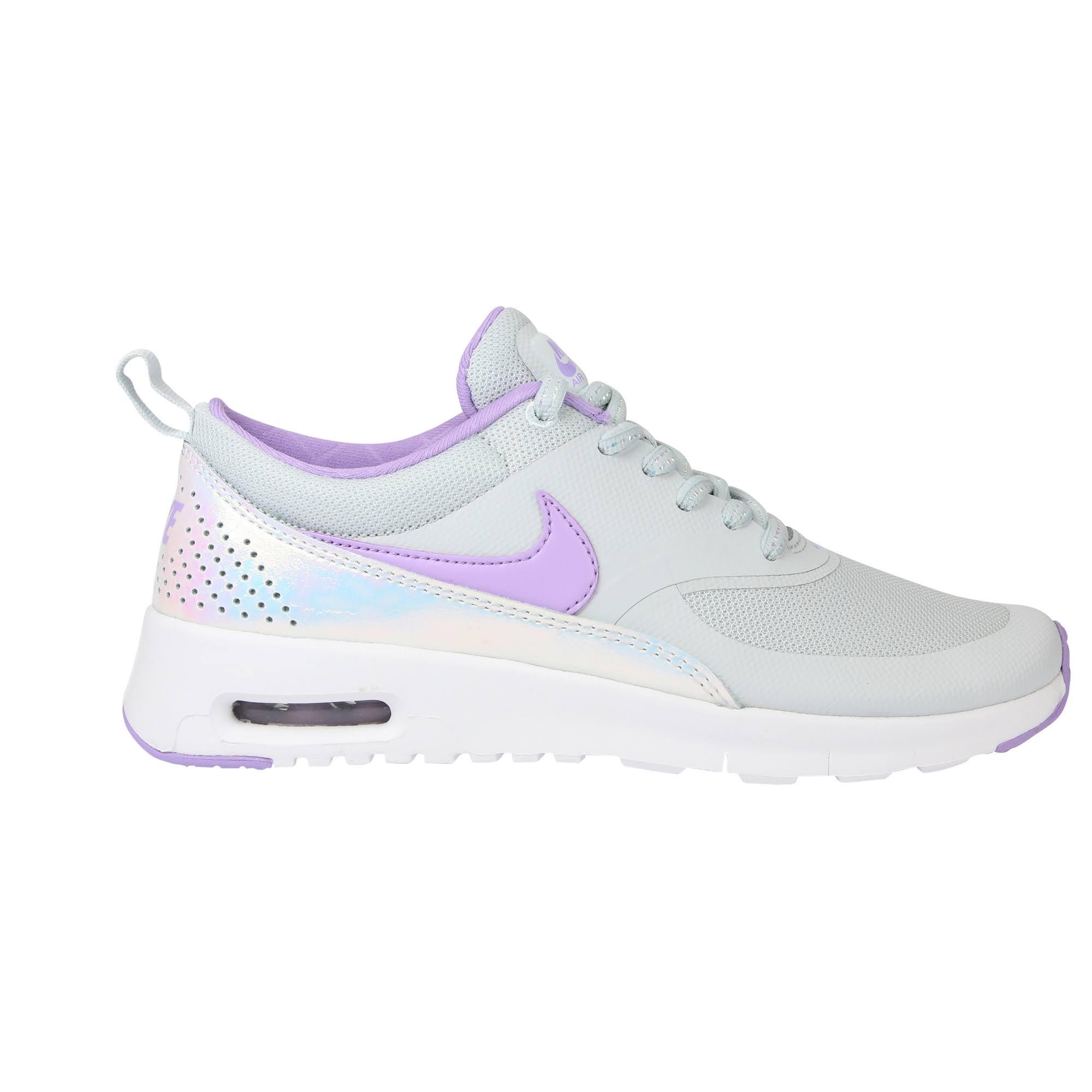 F004 Air Platinum Sneaker Lilac Max Lila Kids Nike Thea Grau Urban Silber Se pure Pw81dqAxq