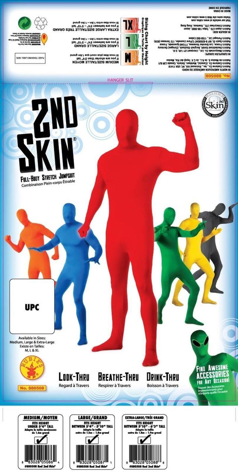 Rubie's 880508xl Costumes Morph X Body large Full Suit Red 7r7xng5w