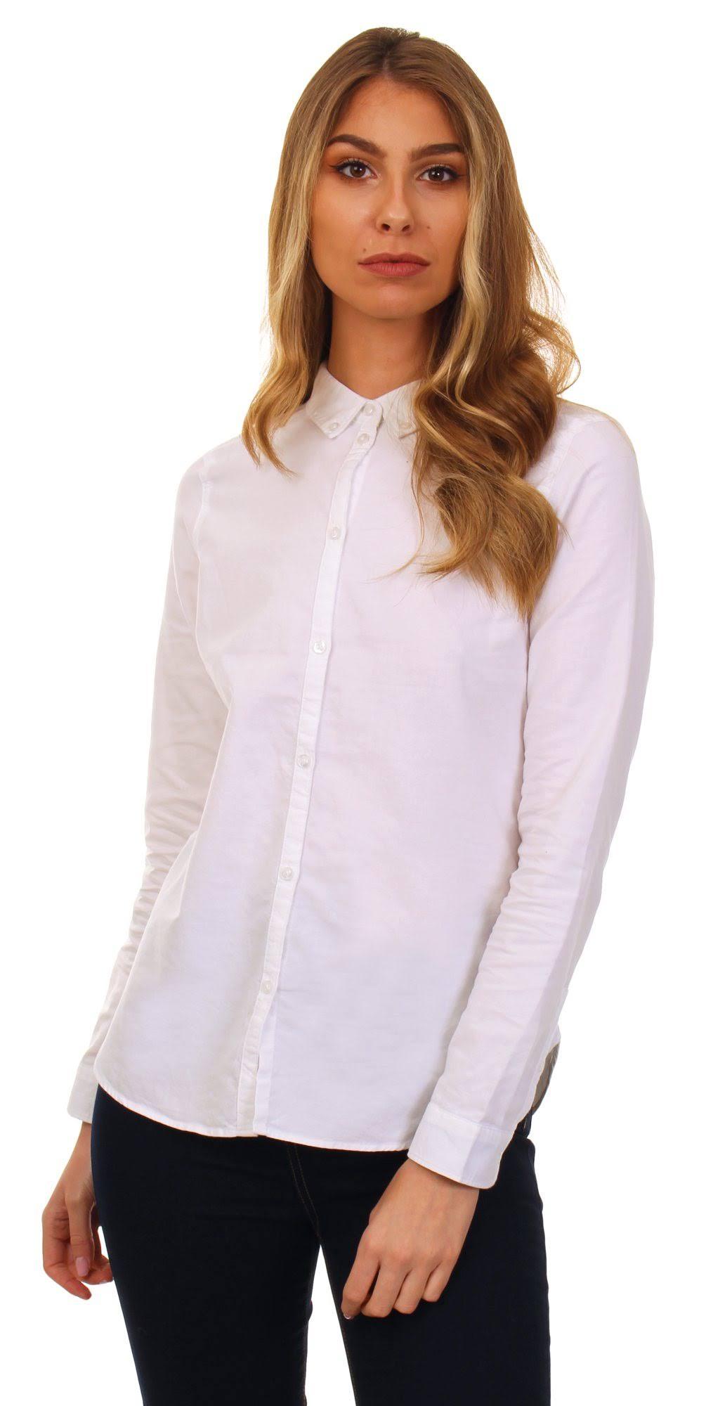 Vero Moda A Blanca Camisa Medida Nieves TxvtnE