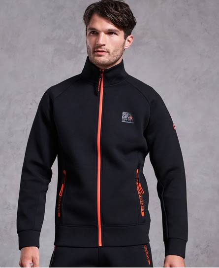Gym Stretch M Track Superdry Negro Tech wvngqRURZW
