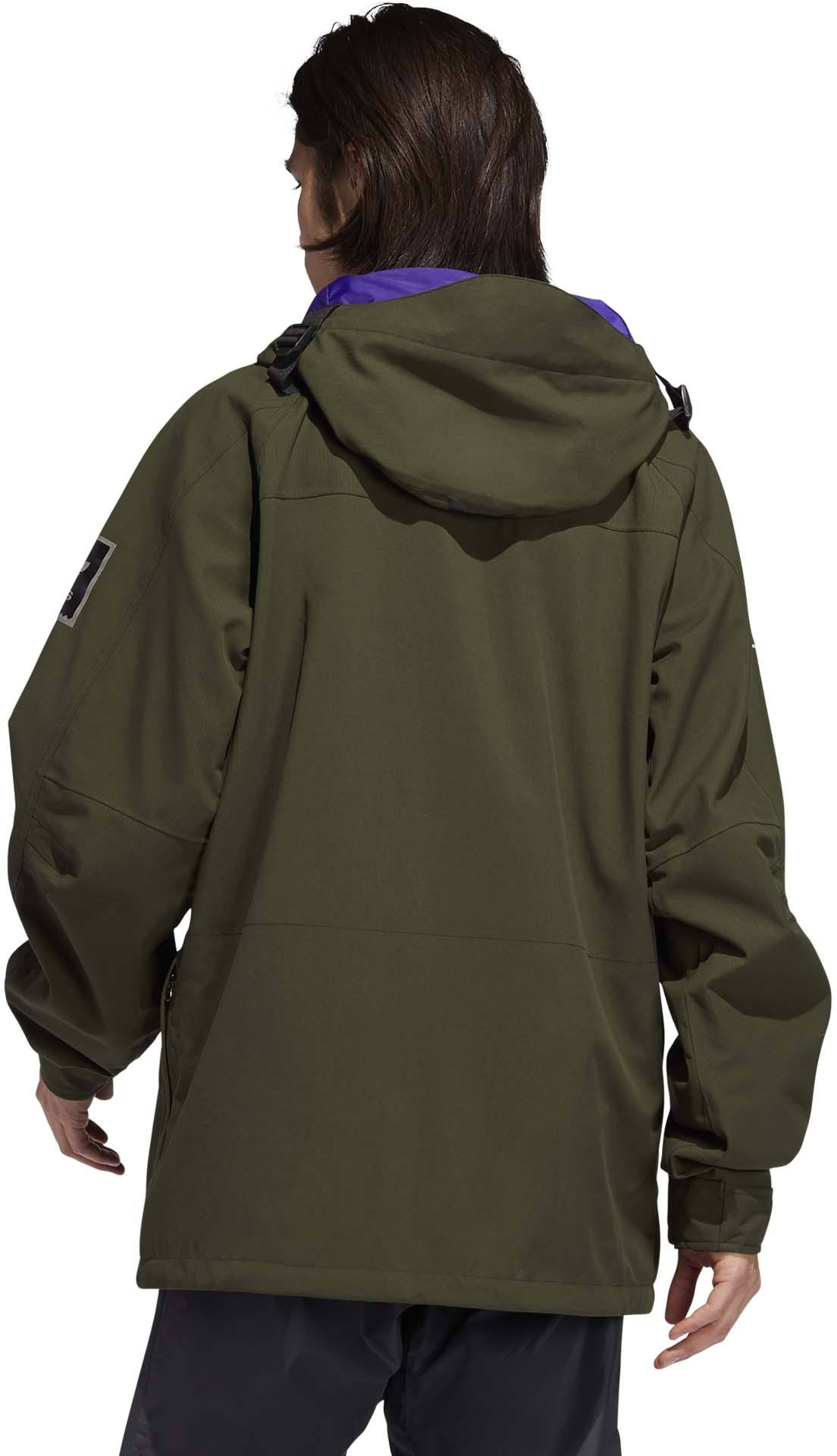 Adidas Utility Jacket (Night Cargo/Collegiate Purple,M)