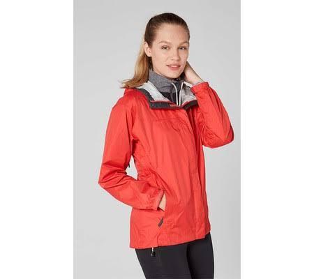 Womens Hansen Helly Jacket 62282 Cayenne Loke Wasserdicht Windproof qET7dTnR