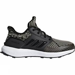 Rapidarun Adidas Core Negro Ftwr Knit Kids Blanco Shoes vw5q86