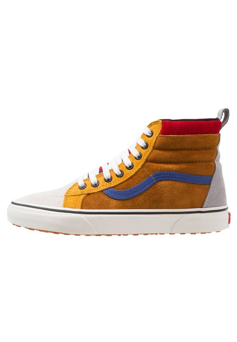 Rozmiar Blue Brown Sudan 5 34 brown Mte mazarine Botki Vans Sneakersy Blue Sk8hi Brązowy Wysokie WwHqnv08C