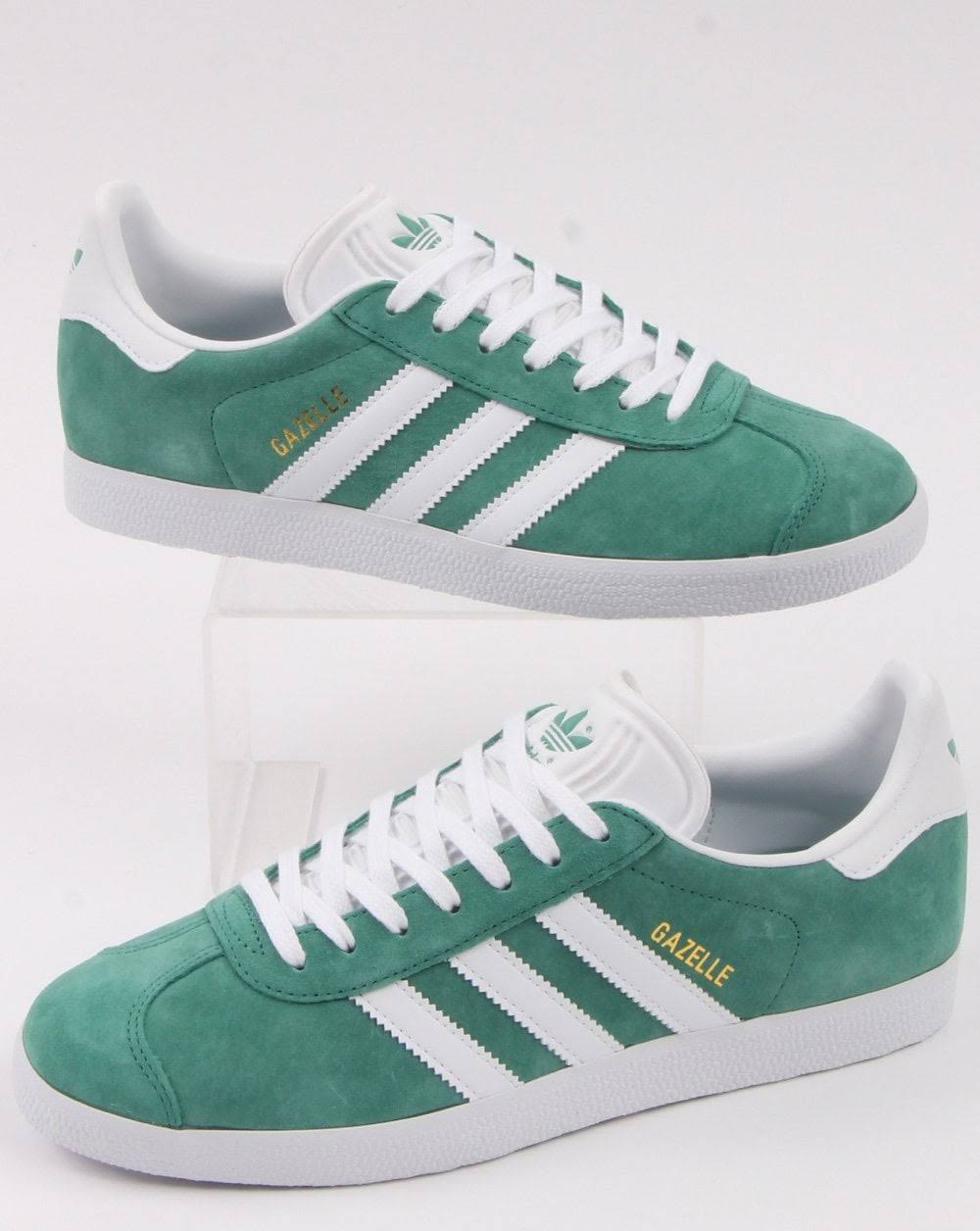 adidas Trainers GAZELLE TRAINERS Size: 8.5 FUTURE HYDRO/WHITE
