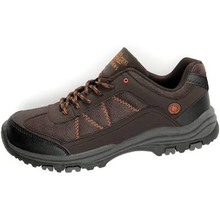 Cotton Traders Lightweight Walking Shoes in Brown