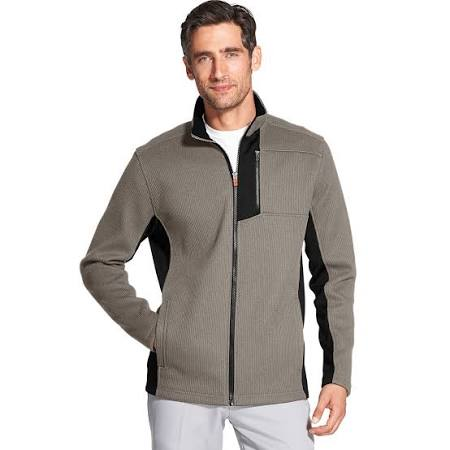 Braun Xl Men's Shaker Fleecejacke Performance Advantage Izod qxRWXw7Hf7