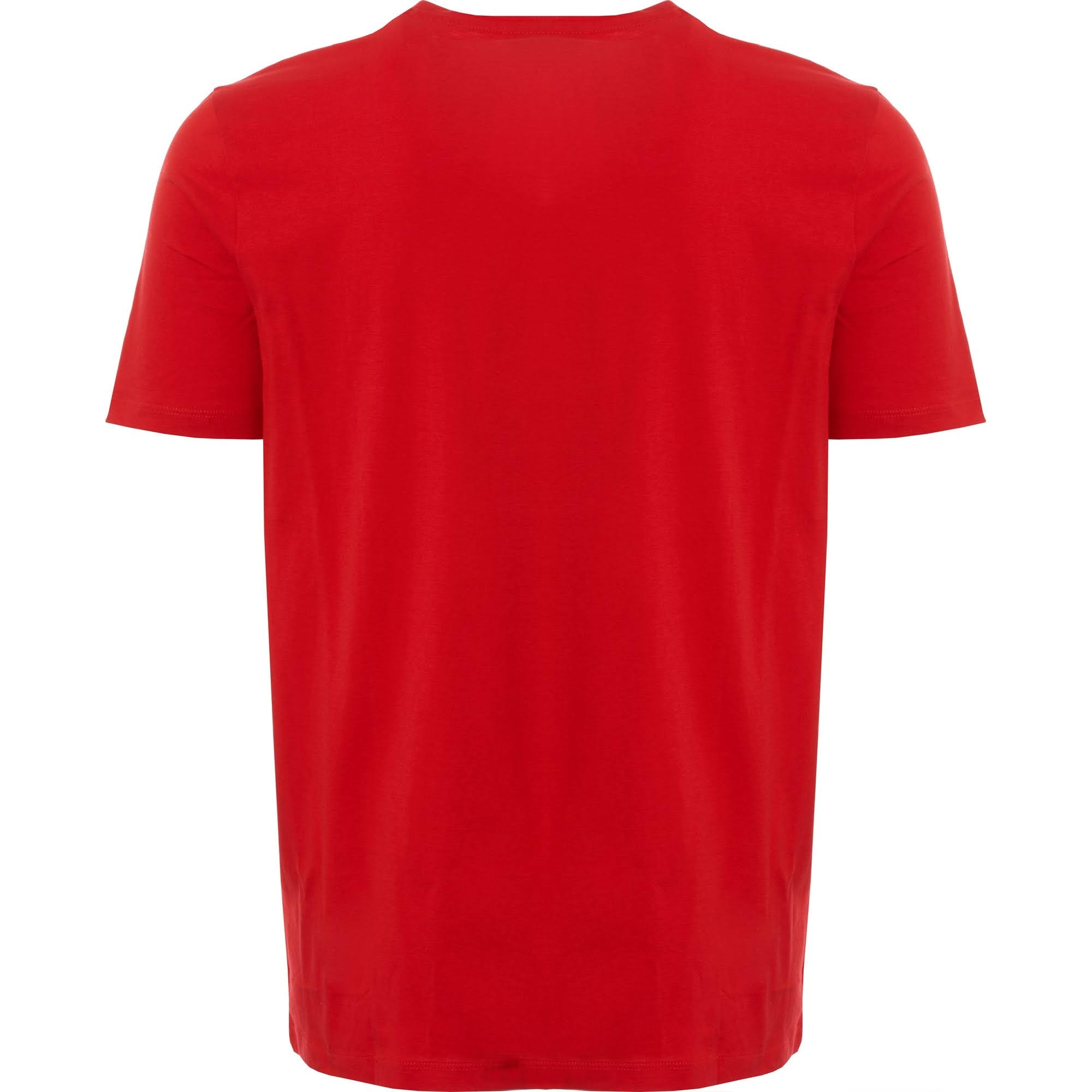 Camiseta u1 Tamaño Color Dolive Rojo Rojo Brillante Hugo 50396249 rRwfq1rE