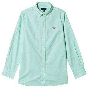 Oxford Green Gant Gant Green Branded Shirt Branded Oxford IwTqYfxCx