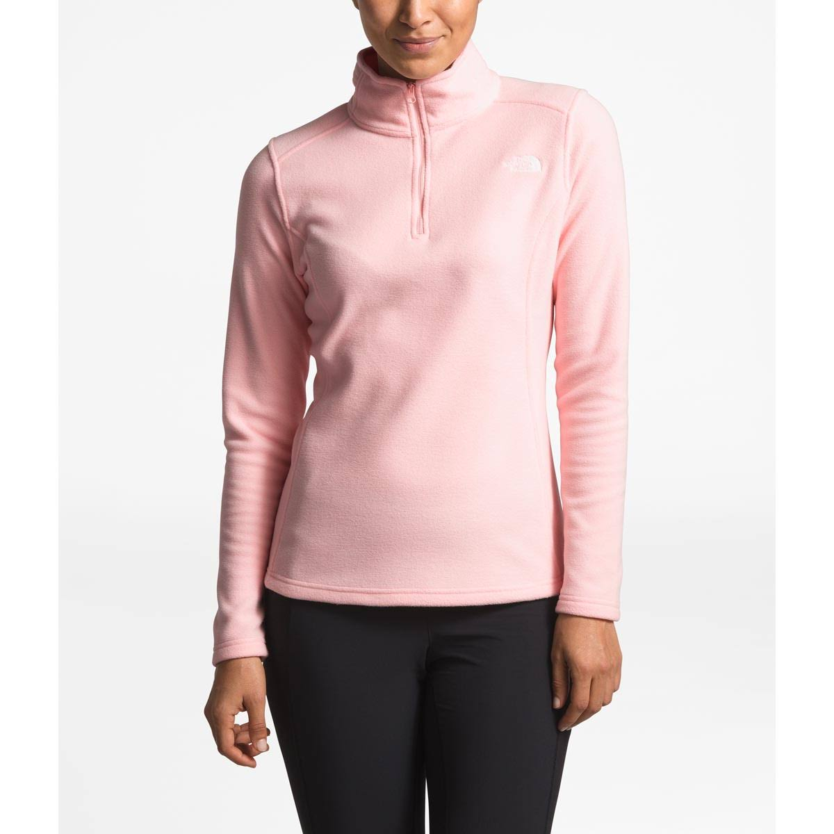Zip The North Pink Fleece Face Glacier Womens Salt 14 zvPvqI
