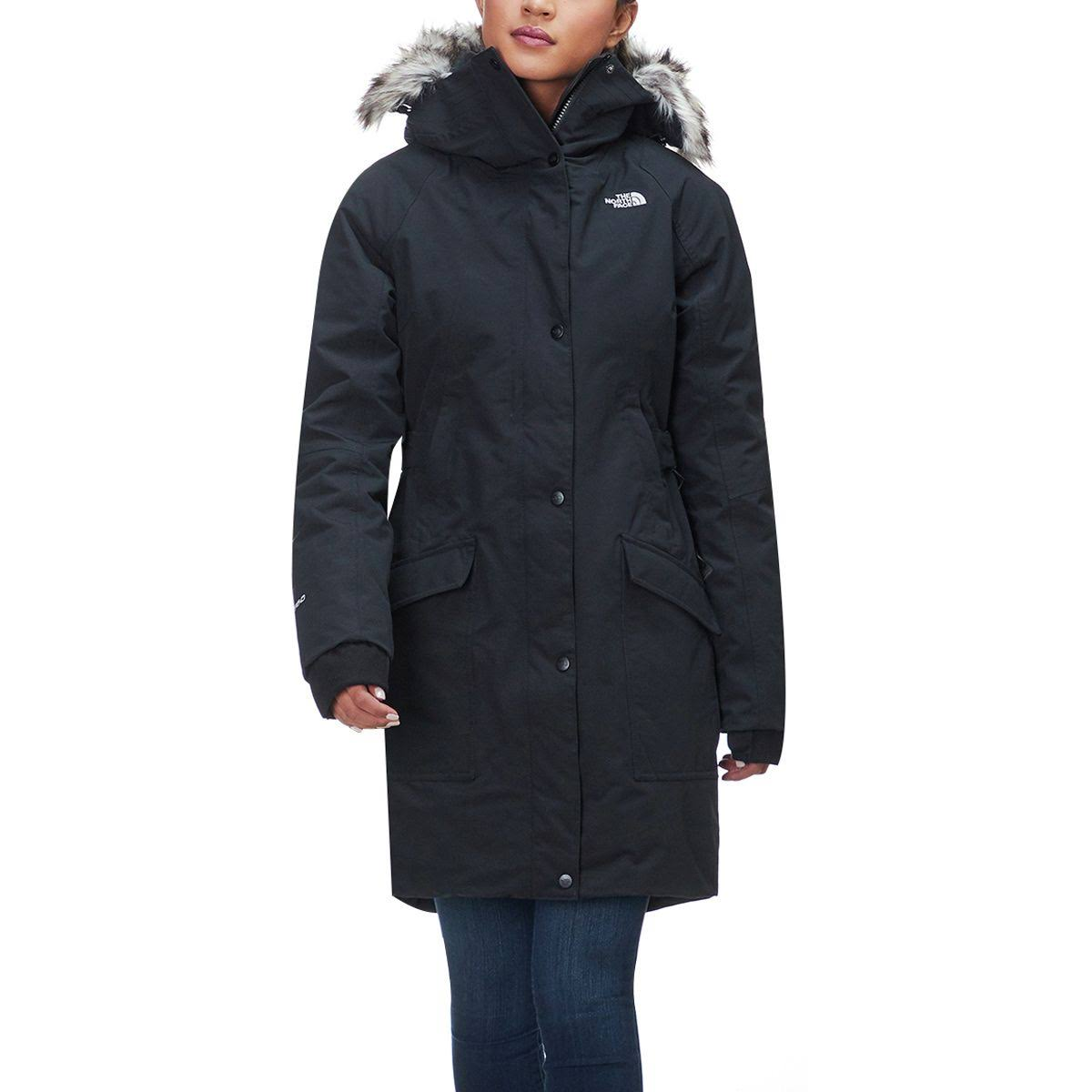 Tnf Boroughs Black Xl Face Mujeres Parka The Outer North wZqtYt
