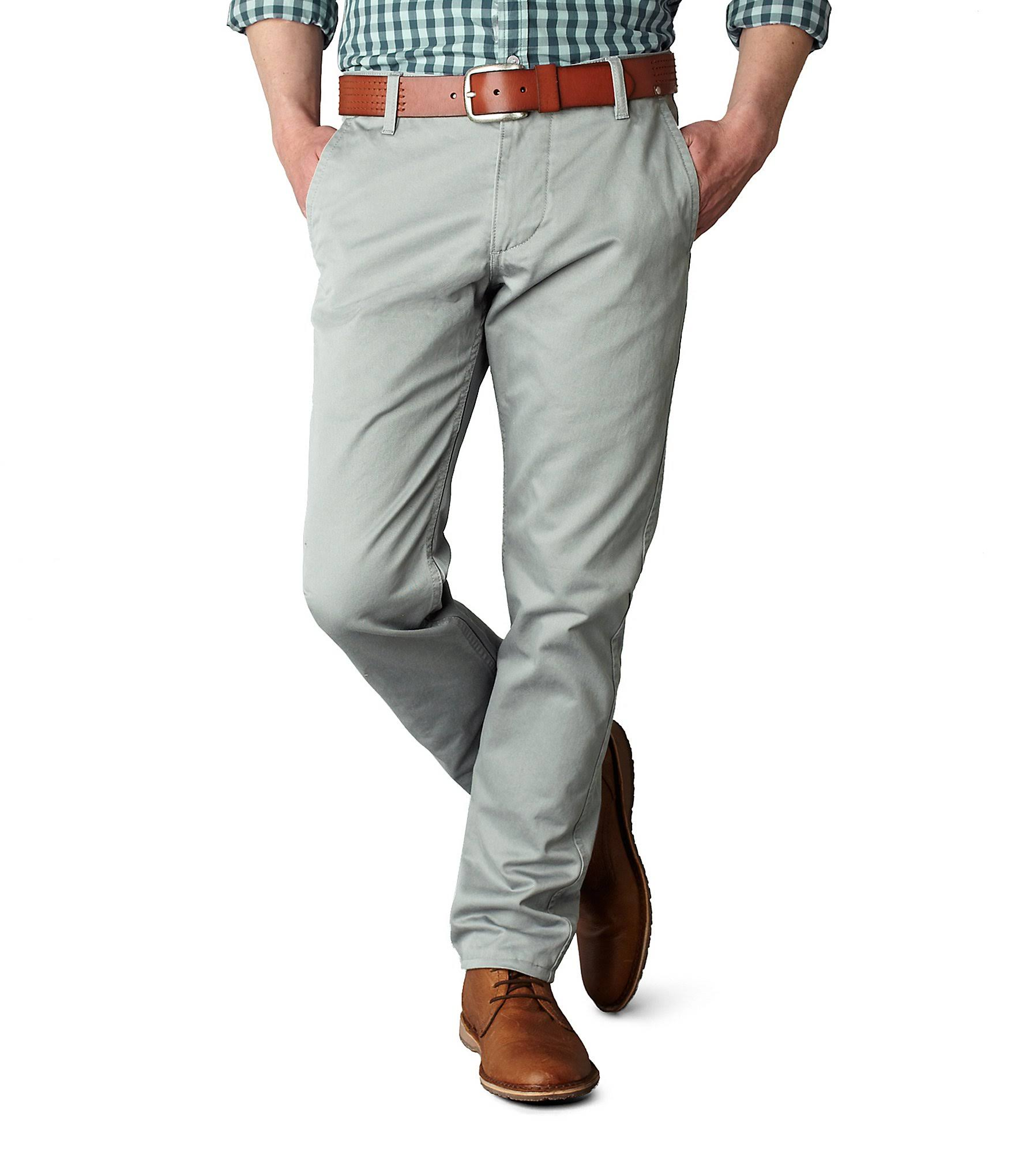 Burma 34x29 Pantaloni Grigio Docker TaperedUomo KhakiSlim Alpha dxerCoB
