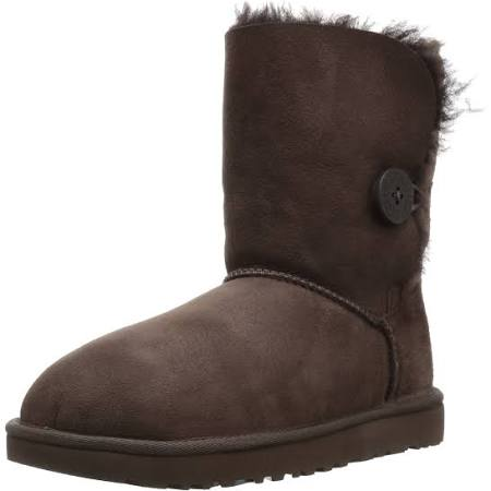 Ugg Boots Ii Bailey Chocolate B Medium 6 Women's Button rBqrwOPv1