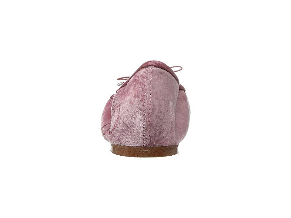 Faded Rose Velvet6 Edelman Platte damesschoen W Silky 5 Sam Felicia QrWExBdCoe