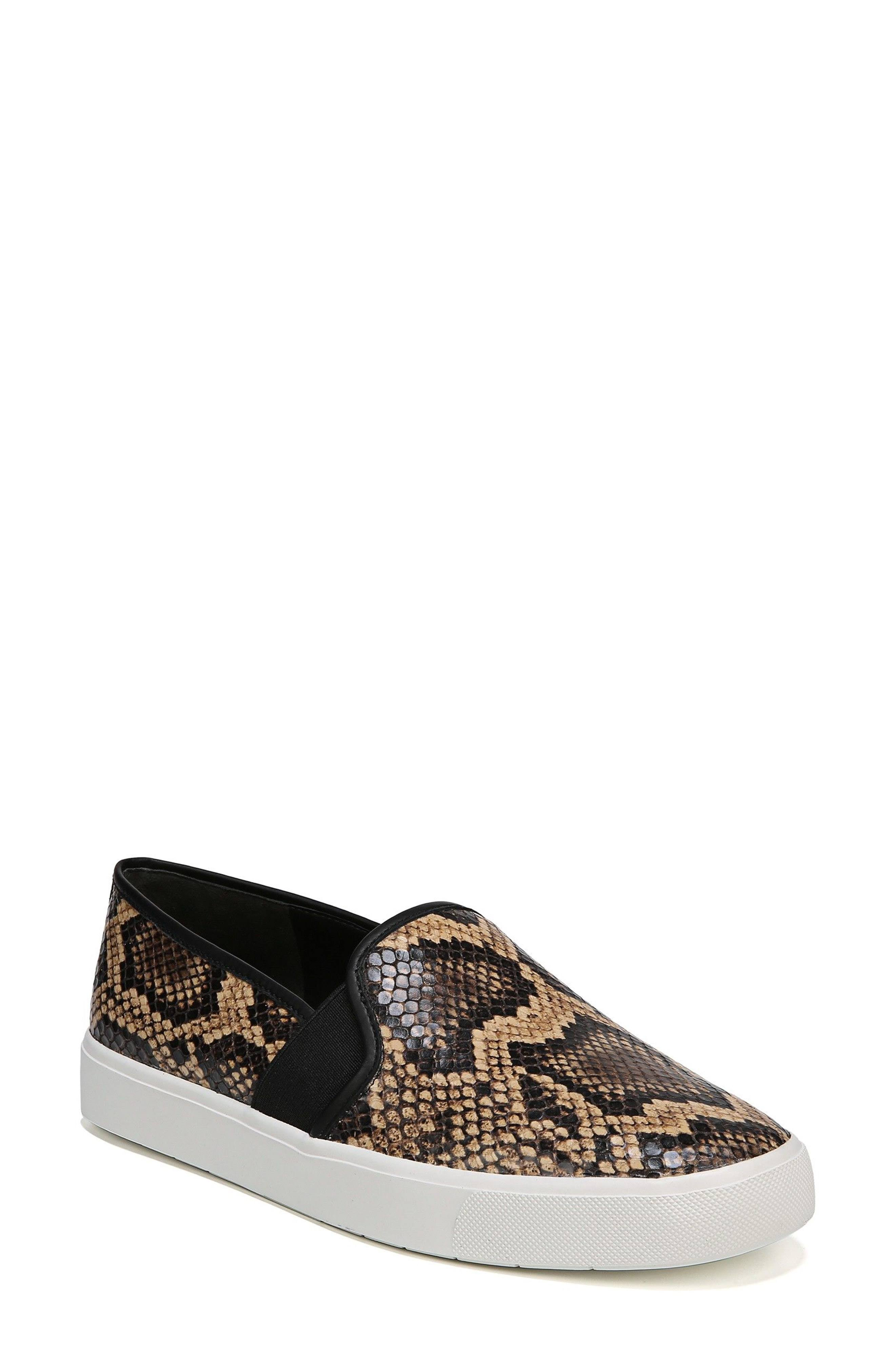 8 Women's Vince Snake Blair print Sneakers Senegal Size fUTZUwq6