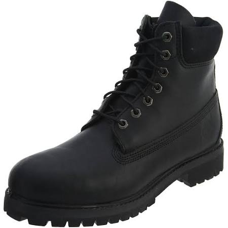 Icon 6 Inch Black Timberland Tb010054001 Boot 10 Smooth Leather 5 Premium 5qHwnPaFng