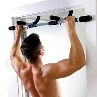 Pure Fitness Multi-Purpose Doorway Pull-Up Bar, Size: 38, Silver