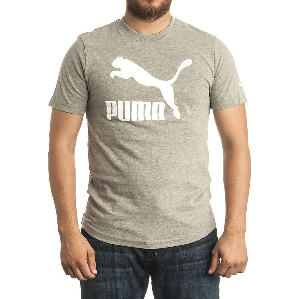 Heather Life Archive Camiseta Medio M Puma Gris IEnq6