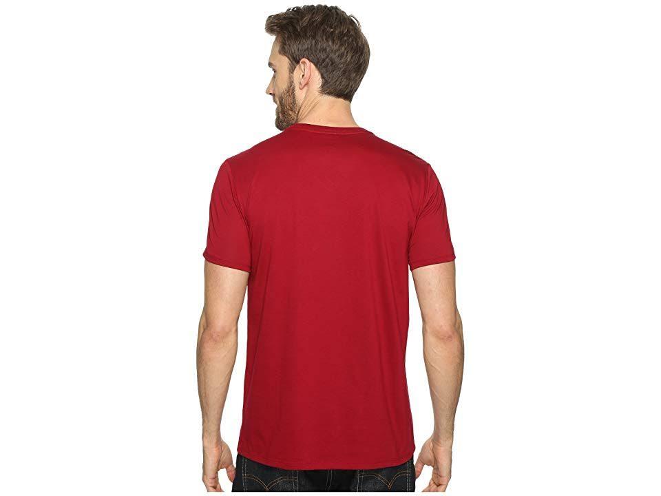 T Pima V Mit shirt baumwolle ausschnitt Aus Lacoste Bordeaux Herren Regular CqnwRUP5