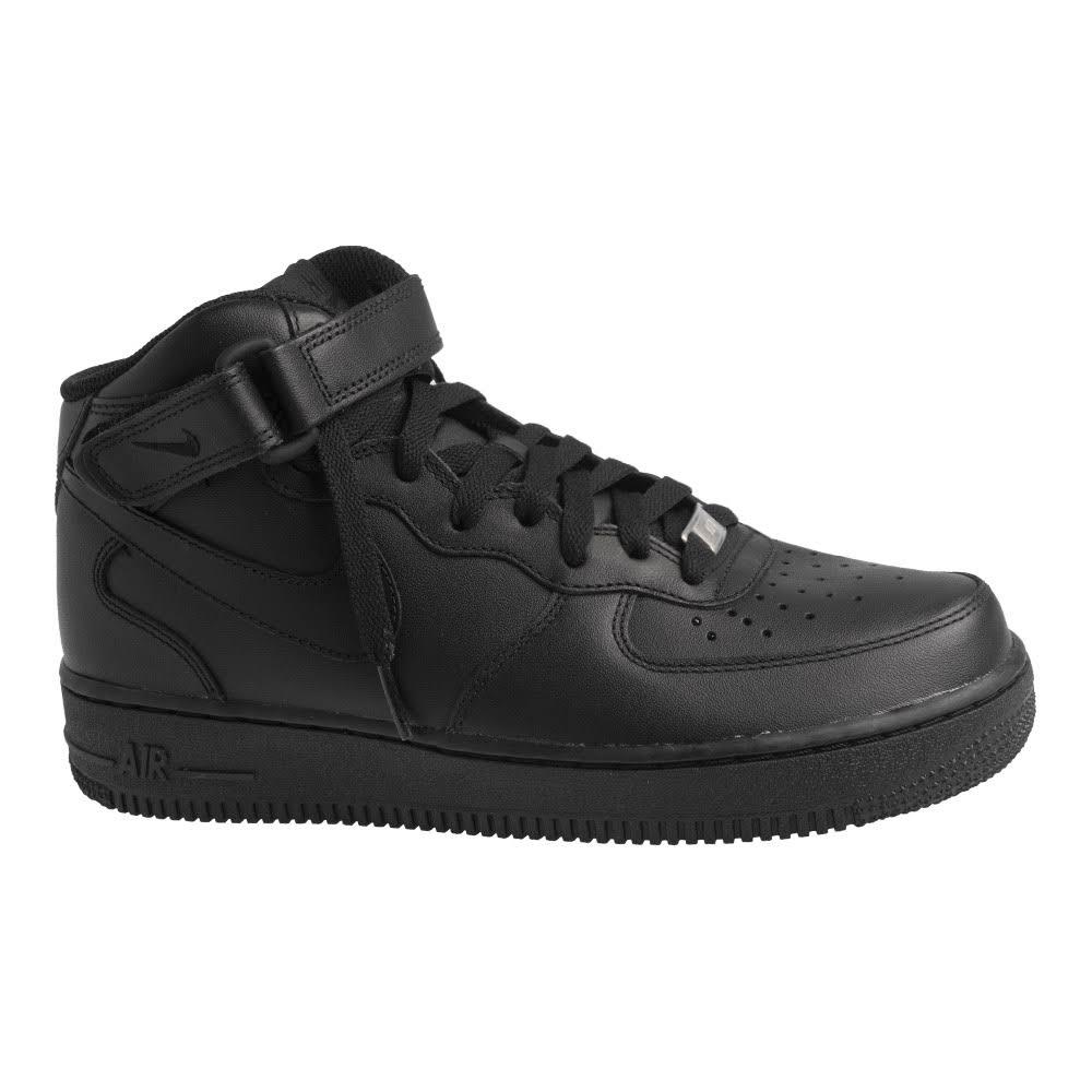 Damesschoenen Zwart Nike 36 1 '07 Force Mid Air Ybf6yI7gv