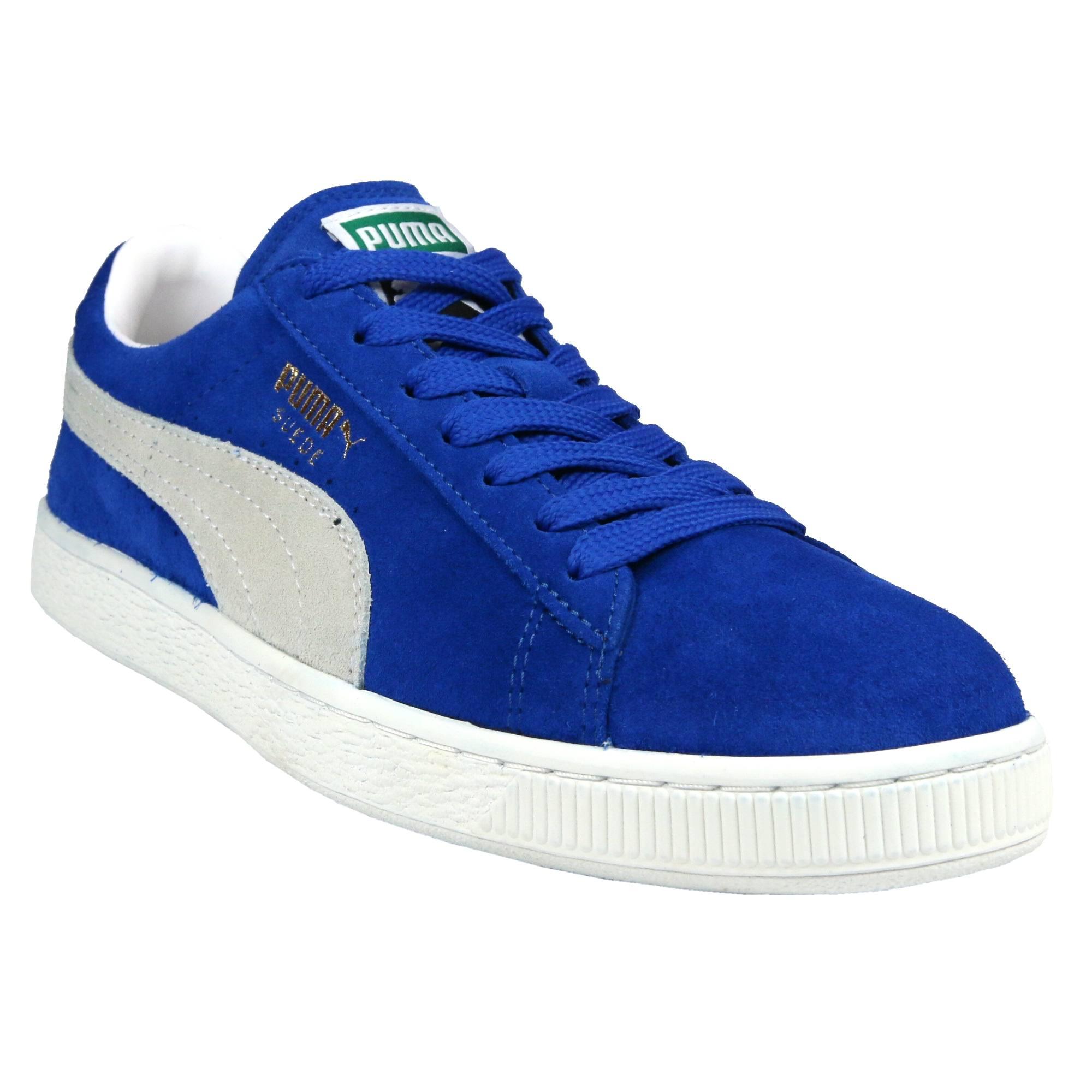 Blau ' 'suede Weiß Puma Classic Sneaker gqfwqCH6Ox