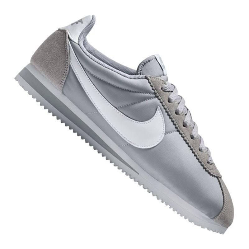 Weiß Us Weiß wolf Günstig Herren Nylon Grau Schuhe Grau Classic Grey Nike 10 Cortez SqAawOga