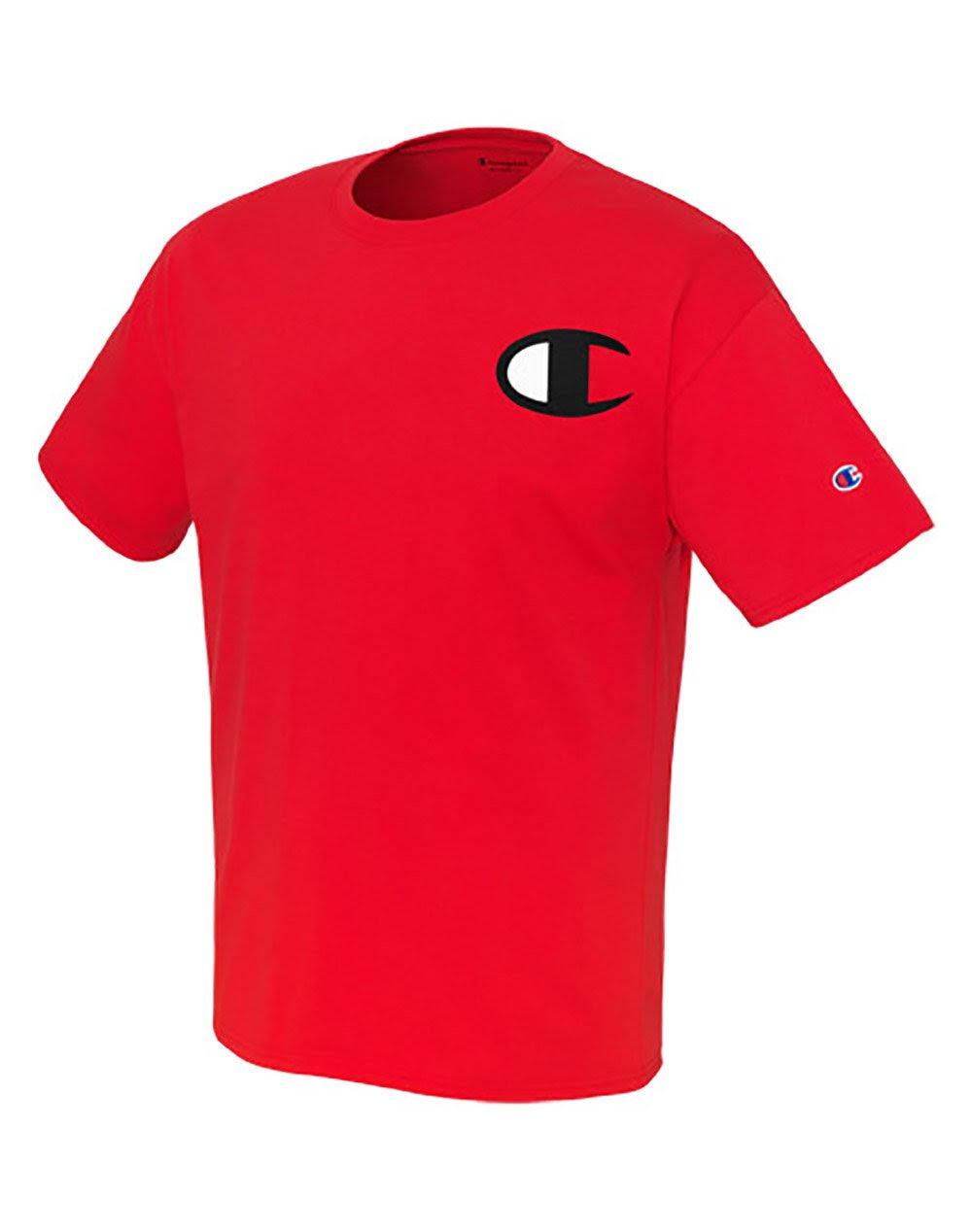Gráfico Athletic Logo Para Camiseta Red Campeón Clásica Big C Con Hombre De Jersey 40wq87