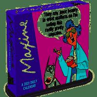 Maxine 2021 Daily Calendar Table Decor, Multi, CALENDARS