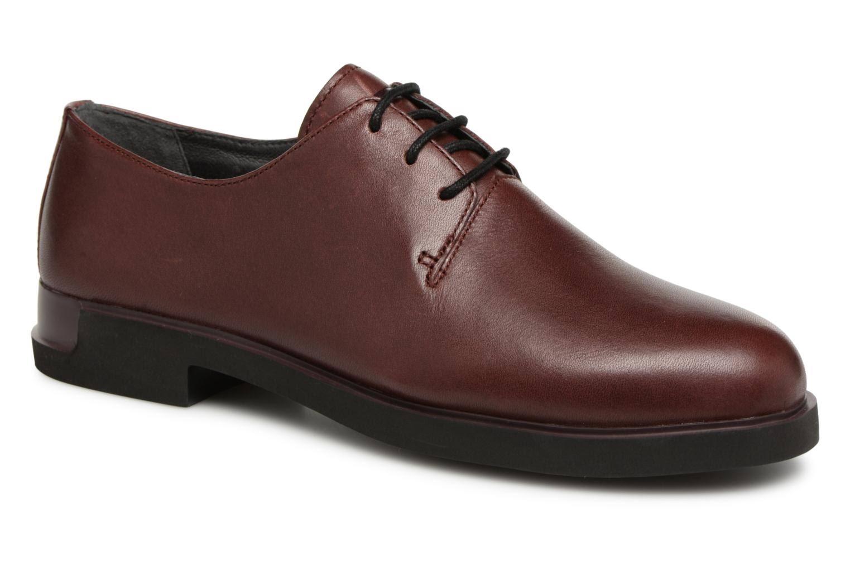 37 Damen Rot Schnürer Damen Burgundy Schuhe Camper Größe xXqdPPF