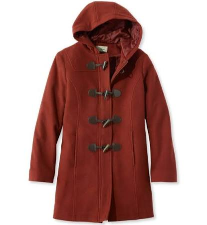 Classic L Toggle Red Dufflecoat 14 Damen Wool l bean T1nYqWRd